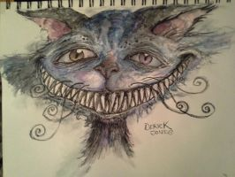 Cheshire Cat by butchRbill