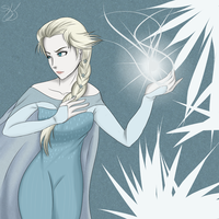 Elsa by LonesomeTimelord