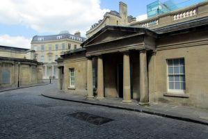 roman bath in Bath by cms-star