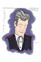 12th Doctor, Peter Capaldi -- WIPb: color by ashley-f