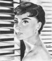Audrey Hepburn by marmicminipark