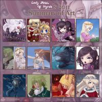 2011 Art Summary Meme by Lady-Zelda-of-Hyrule