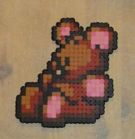 Hama Beads - Pookie by acidezabs