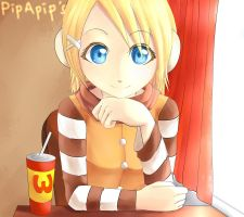 Kagamine Rin [Fan Art] by PipApip