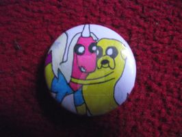 My Adventure Time Badges :P by LumpySpacePrincess11