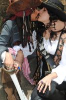 Angelica Teach and Jack Sparrow in love s2 by BabiSparrow