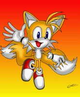 Sonic Heroes - Tails by EUAN-THE-ECHIDHOG