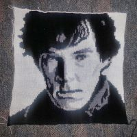 Pillow Case Sherlock by Mella68