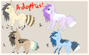 Adoptables! ( OPEN) by Schuffles