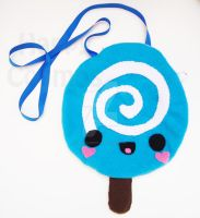 Swirly Lollipop Bag by CosmiCosmos