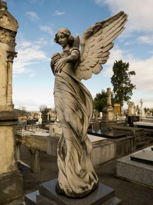 Cemetery angel 2 by dlambeaut
