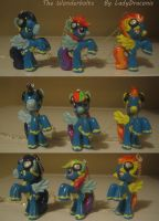 MLP: FIM Custom Wonderbolts by LadyDraconic