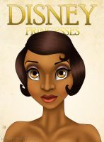 DISNEY BEAUTY SHOT - Tiana by johngreeko