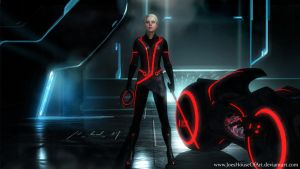 Save Tron 3: Ascension - The Red Wolf by JoesHouseOfArt