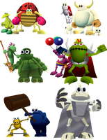 Croc: Legend of the Gobbos Bosses by EpsilonTLOSdark4