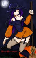 Happy All Hallows Eve by rinidarklight