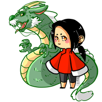 APH: DRAGON LEADER by Lil-Wang