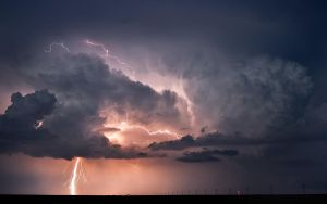Lightning Storm over Oklahoma by MattGranzPhotography