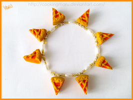 Bracelet With Chunks of Tart by CookingMaru