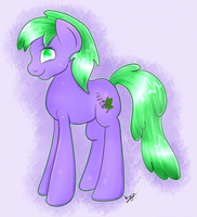 [Gift] Lavender Leaf c: by CKittyKat98