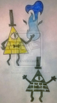 Gravity Falls - Bill Cipher by AncientEchidna