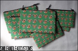 Animal Crossing: Beau Zipper Pouch - FOR SALE by SmileAndLead