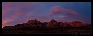 Red Rock Sunrise by PyroDenny16