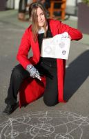 Cosplay Edward Elric by YamiCecile