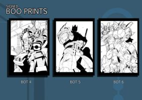 Signed Boo TF Prints2 by TheBoo