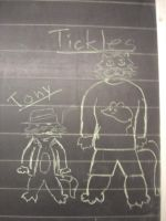 Tickles and Tony by SquishyPandaPower