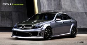 Mercedes Benz C63 AMG 2008 by yasiddesign