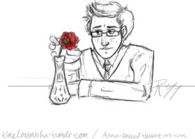 Ten and his Rose by erus-aevus