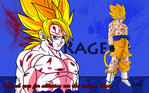 Super Saiyan Rage by RageVX