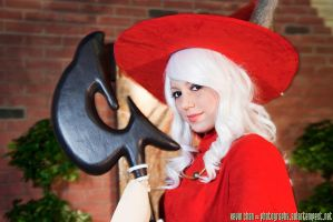 Red Mage with staff by Xero-Cosplay