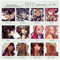 2013 Art Summary by Gooweee