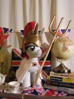 Britannia: the Brony UK Convention Mascot in Plush by Hazelwolf