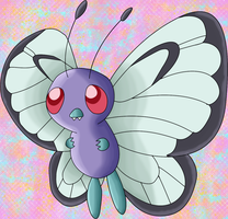 Cute Butterfree by PikachuGodess