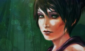 Dragon Age Origins : Morrigan by Leucove