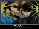 Wasp vs Shadowcat - The Shoe Sale by Sailmaster-Seion