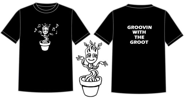 Groovin with the Groot by AnimeGeer