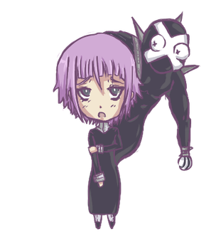 Crona and Ragnarok by lp-slash-queen