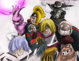 Best Anime Villains by Eskimo-Evan