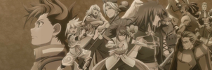 Tales of Symphonia Tethe`alla Arc Banner by YukiSaphira