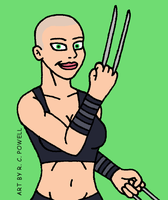 Madame Cueball's Salon - X-23 by Rennon-the-Shaved