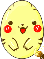 Pikachu Egg by Xiabubble