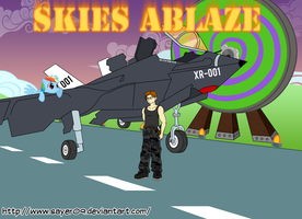 Request - Skies Ablaze (Fanfic cover) by Sayer09