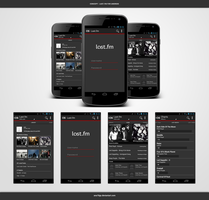 Last.fm For Android : A Concept by ana10gx