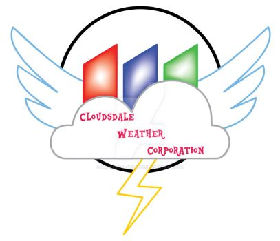 Cloudsdale Weather Corporation logo by MysteryAlabaster