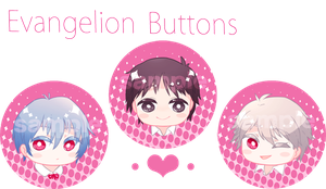 Eva Buttons by toumin