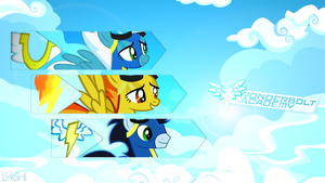 The Wonderbolts  - Wallpaper [1920x1080] by Nakan0i
